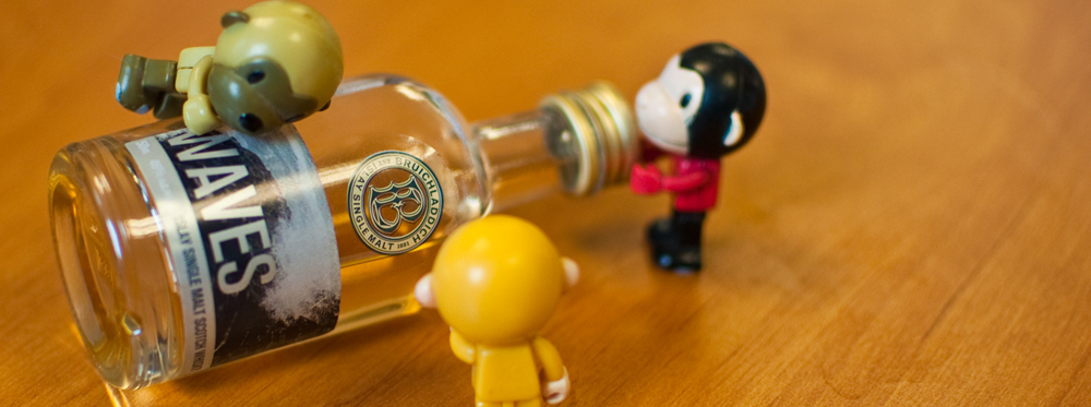 whisky mini bottle pic
