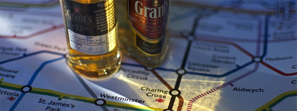 Grant's whisky, an introduction Ludo style
