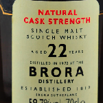 Rare Malts Edition Brora 58.7% 1972 22yo Whisky For Sale